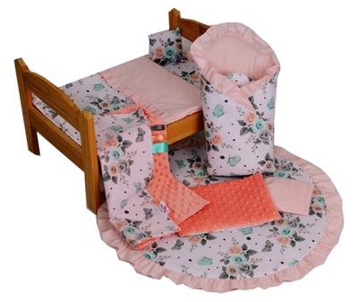 Luxusná posteľná bielizeň set pre Bábiky Nových