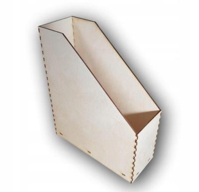 Segregator drewniany A4 na dokumenty organizer