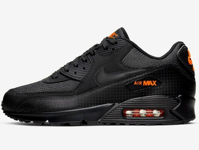 40 Nike Air Max 90 Black Orange IN BOX NOWOŚĆ 2020