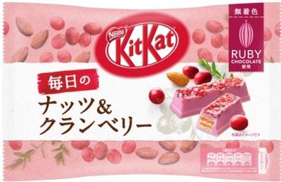 [JC] Kitkat шоколад РУБИ , орехи и клюква JP