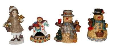 3 штуки 2 Подсвечники Снеговик + Снеговик с Лампы