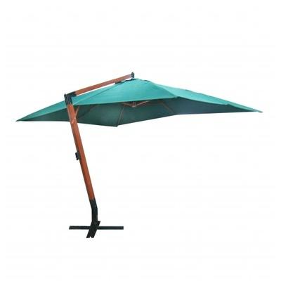 Parasol Ogrodowy Podwieszany 300x400 Cm Zielony 9153624464 Oficjalne Archiwum Allegro
