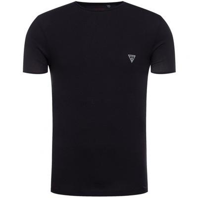 Guess t-shirt męski czarny slim fit oryginał XXL