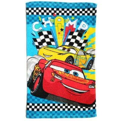Ręcznik dla dzieci 30x50 licencyjny Auta niebieski