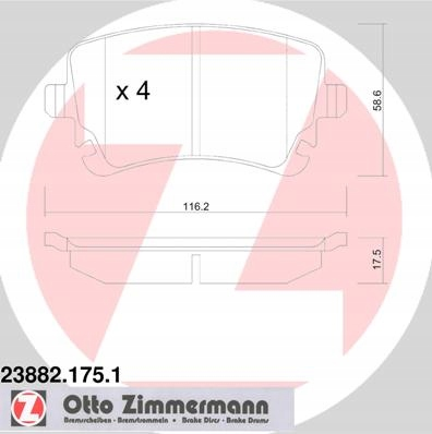 диски колодки zimmermann sport audi a8 d3 360mm, фото 5