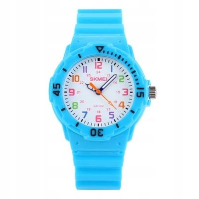 Zegarek dziecięcy - SKMEI analogowy wyraźna tarcza