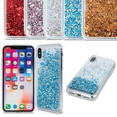 Etui Płynny Brokat Case do Samsung Galaxy A22 4G