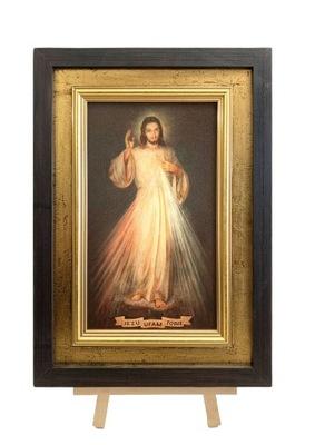 Картина НА ХОЛСТЕ ИИСУС МИЛОСЕРДНЫЙ 25x35