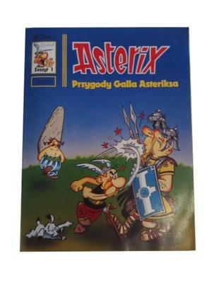 ASTERIX - PRZYGODY GALA ASTERIKSA wyd. I 1991 r.