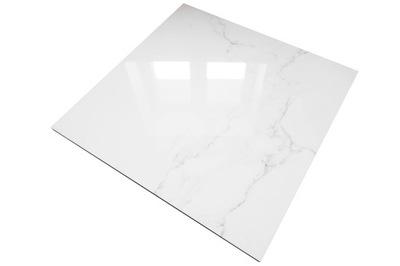 плитки мраморной имитацией Белый Мрамор КАРРАРА
