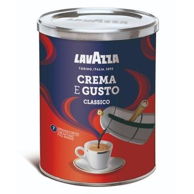 кофе молотая Lavazza Креме E Gusto Classico 250г