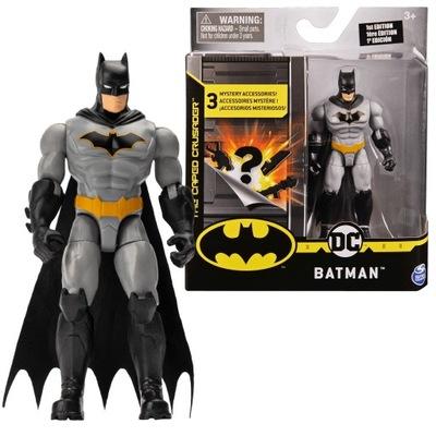 FIGURKA BATMAN DC COMICS + 3 AKCESORIA + PLAKAT