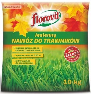 FLOROVIT JESIENNY DO TRAWNIKA TRAWY OGRODU 10 KG