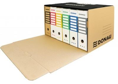 Pudło archiwizacyjne zbiorcze przednie karton