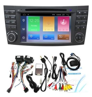RADIO ANDROID MERCEDES GASOLINA E W211 E300 W209 W219