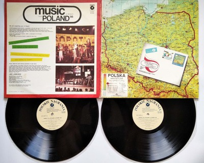 2LP Music From Poland At Midem 86 Stańko TSA NM/EX