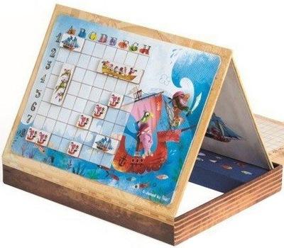 Gra Magnetyczna STATKI JANOD Bitwa Morska 5-12 lat