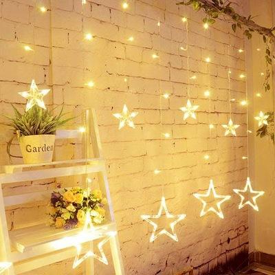 Gwiazdy Wiszace Kurtyna Lampki Sople 138led 4m 9810583923 Oficjalne Archiwum Allegro