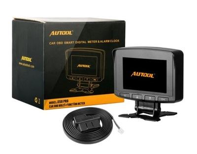ДИСПЛЕЙ LCD AUTOOL X50 PRO OBD2 СВЕТОДИОД LED LCD HUD