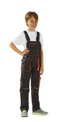 Spodnie robocze ogrodniczki dziecięce 158/164HIT!!