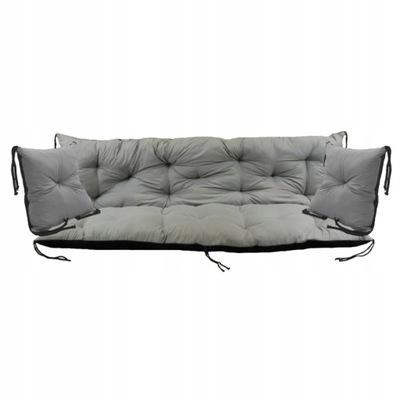 подушка на скамейку качели 120x60x50 см + 2X40X40