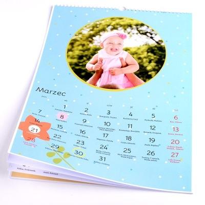 Fotokalendarz A3 foto kalendarz 13 stron