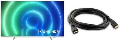 Philips 55PUS7556 4K UHD Smart TV Netflix + gratis