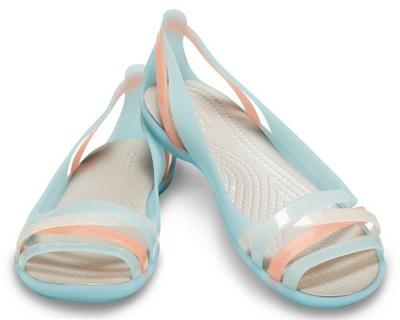 Sandały Crocs Isabella Huarache 2 złote 37,5