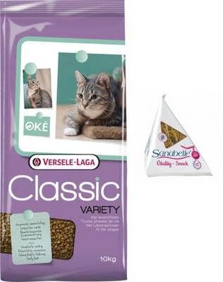 VERSELE-LAGA Classic Cat Variety 10kg + GRATIS