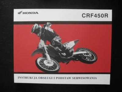 MANUAL MANTENIMIENTO CRF450R/RX