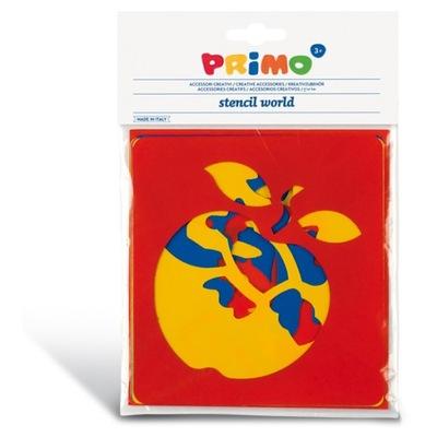 PRIMO - Szablony do farb Owoce 6 szt., kreatywne