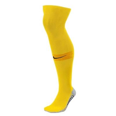 Getry piłkarskie NIKE żółte MatchFit 42-46