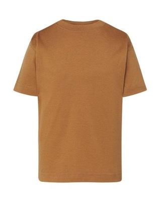 DZIECIĘCA koszulka T-SHIRT JHK KLASYK brązowa 128