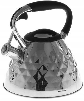 Чайник с Свистком 3Л. Индукция Diamond блеск