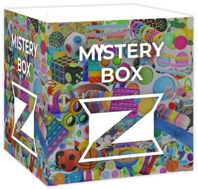 MYSTERY BOX ZESTAW FIDGET TOYS ANTYSTRESOWE POP IT