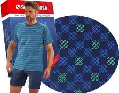 Piżama męska pr.Polski firma Sesto Senso M