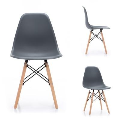 Krzesło skandynawskie DSW biurowe NOWOCZESNE salon