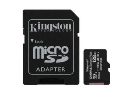 Karta microSD Kingston Canvas Select Plus 128 GB