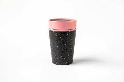 Rcup, кружка тепловой Black&Pink, 227 мл