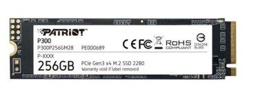 Dysk SSD P300 256GB M.2 PCIe Gen 3 x4 1700/1100