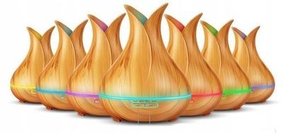 Увлажнитель воздуха 3D 7 цветов LED + AROMATHERAPY