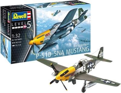 Модель самолета P-51D-5NA Мустанг Revell 03944 1 /32
