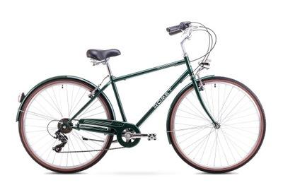 ROMET VINTAGE M zelený 18 L bicykel