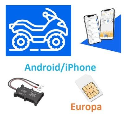 FGPS.PL LOCALIZADOR GPS QUAD APLIKACJA SIM EUROPA F050