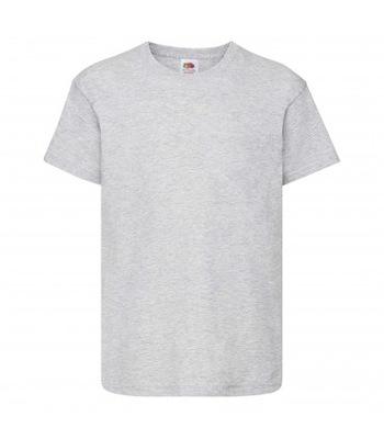 T-shirt Koszulka dziecięca Fruit SZARA 128