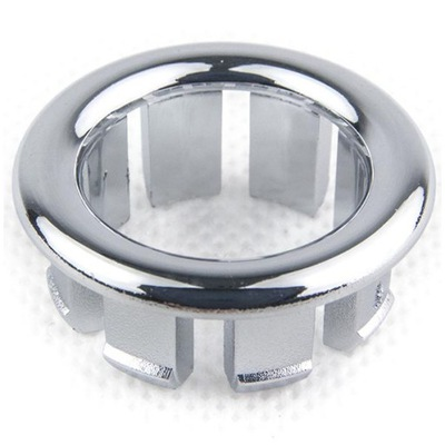 Pierścień ozdobny do umywalki 22 mm chromowany KK-