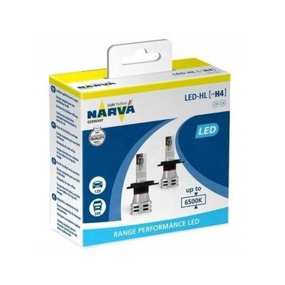 NARVA żarówka H4 Performance LED 6500K 12V 24V