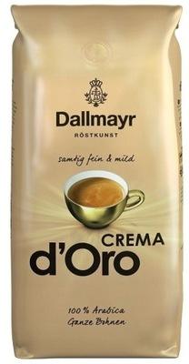 кофе ? зернах Dallmayr КРЕМЕ D ' Oro 1 кг Арабика