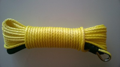 Syntetické 5 mm lano 15m navijak atv quad