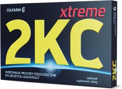 2 KC Xtreme 12 tabletek suplement diety na kaca
